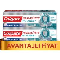 Colgate Hassasiyete Pro Çözüm Onarım ve Önleme Diş Macunu 75 ml x 2 Adet