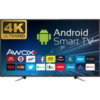 Awox K5500RST 55'' 140 Ekran Uydu Alıcılı 4K Ultra HD Smart LED TV