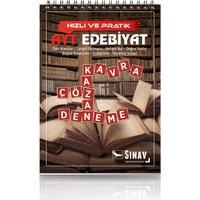 Sınav Yayınları AYT Hızlı ve Pratik Edebiyat