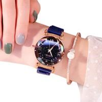GOB2C GOB2CLsvır Kadın Su Geçirmez Analog Kol Saati Mavi