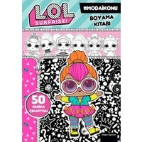 Lol Bebek Surprise Moda Ikonu Boyama Kitabi Fiyati