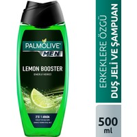 Palmolive Men Lemon Booster 2si 1 Arada Enerji Veren Erkek Duş Jeli 500 ml