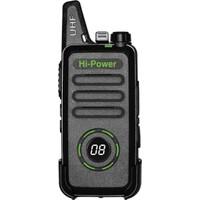 Teknoben Hi-Power Ekranlı Uzak Mesafe El Telsizi