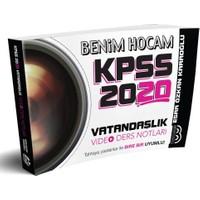 Benim Hocam 2020 KPSS Vatandaşlık Video Ders Notları
