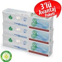 Organicadent Organik&Helal Sertifikalı Florürsüz Diş Macunu 100Ml,3'lü Aile Paketi