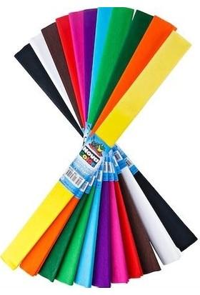 Nova Color Nc-338 Krapon Kağıdı 10'Lu Karışık Renkli Set
