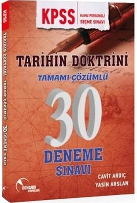 Doktrin Yayınları Tarih 30 Adet Deneme Sınavı - Cavit Ardıç