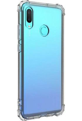 Aktif Aksesuar Huawei P Smart 2019 Şeffaf Ince Köşe Korumalı