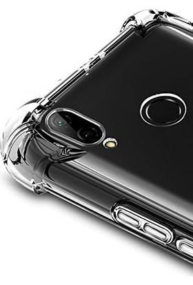 Aktif Aksesuar Huawei P20 Lite Şeffaf Ince Köşe Korumalı