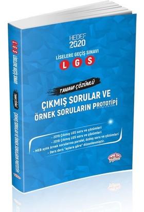 Editör Yayınları LGS Çıkmış Sorular ve Örnek Soruların Prototipi Hedef 2020