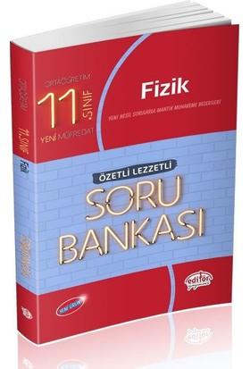 Editör Yayınları 11. Sınıf Fizik Özetli Lezzetli Soru Bankası