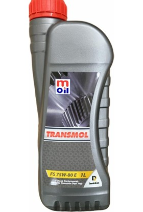 Moil Transmol Fs(Full Sentetik) 75W80 E Şanzıman Yağı 1 Lt