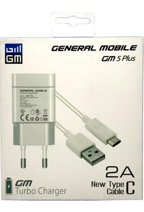 General Mobile Type-C Turbo Charge Şarj Cihazı