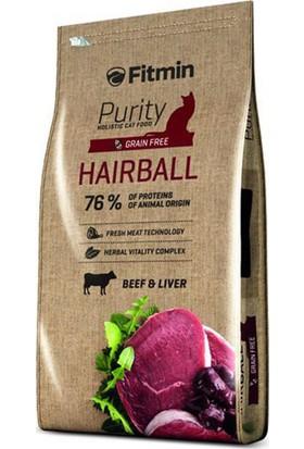 Fitmin Purity Hairball Sığır Etli Tahılsız Yetişkin Kedi Maması 1,5 kg