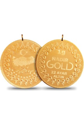 Nadir Gold 1 Gram Kulplu 22 Ayar Altın