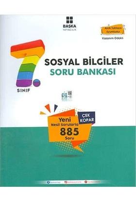 Başka Yayınları 7.Sınıf Sosyal Bilgiler Soru Bankası