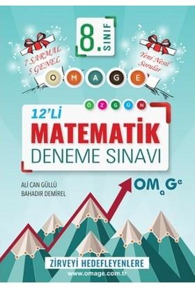 Omage 8. Sınıf Omage Matematik 12 Deneme Sınavı (7 Sarmal + 5 Genel)