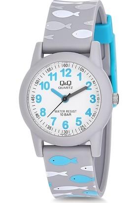 Q&Q VR99J801Y Su Geçirmez Rakamlı Çocuk Kol Saati
