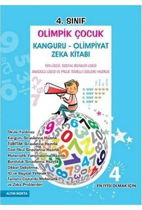 Altın Nokta 4. Sınıf Olimpik Çocuk Bilsem Kanguru Olimpiyat Zeka Kitabı