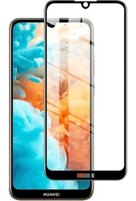 Cayka Huawei Y6 2019 Tam Kaplayan 5D Ekran Koruyucu Cam