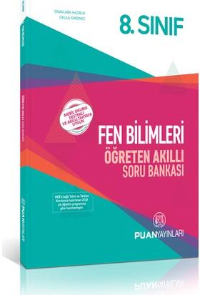 Puan Yayınları 8. Sınıf Fen Bilimleri Öğreten Akıllı Soru Bankası
