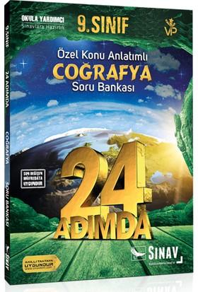 Sınav Yayınları 9. Sınıf Coğrafya 24 Adımda Özel Konu Anlatımlı Soru Bankası