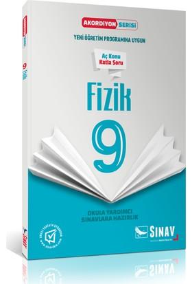 Sınav Yayınları 9. Sınıf Fizik Akordiyon Kitap