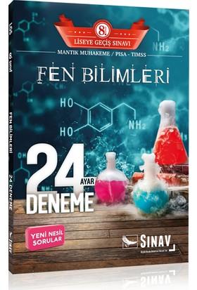 Sınav Yayınları 8. Sınıf LGS Fen Bilimleri 24 Deneme