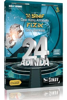 Sınav Yayınları 10. Sınıf Fizik 24 Adımda Özel Konu Anlatımlı Soru Bankası