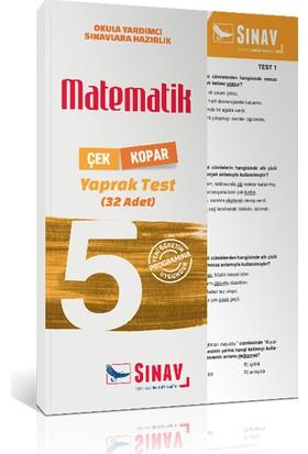 Sınav Yayınları 5. Sınıf Matematik Yaprak Test