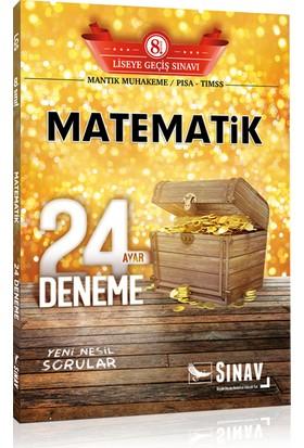 Sınav Yayınları 8. Sınıf LGS Matematik 24 Deneme