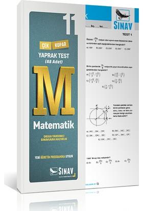 Sınav Yayınları 11. Sınıf Matematik Yaprak Test