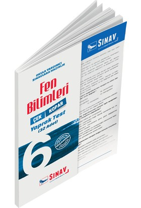 Sınav Yayınları 6. Sınıf Fen Bilimleri Yaprak Test