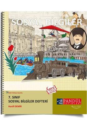 Pandül Yayınları 7. Sınıf Sosyal Bilgiler Defteri - Hanifi Demir