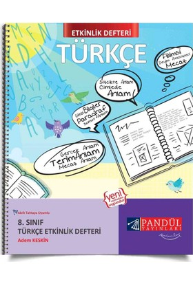 Pandül Yayınları 7. Sınıf Türkçe Etkinlik Defteri - Adem Keskin