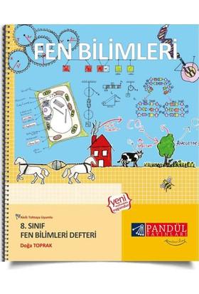 Pandül Yayınları 8. Sınıf Fen Bilimleri Defteri - Doğa Toprak