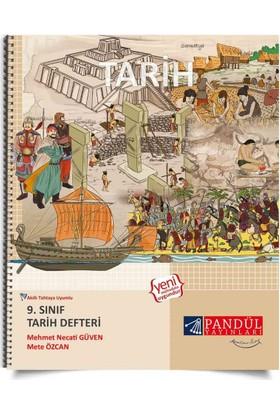 Pandül Yayınları 9. Sınıf Tarih Defteri - Mehmet Necati Güven