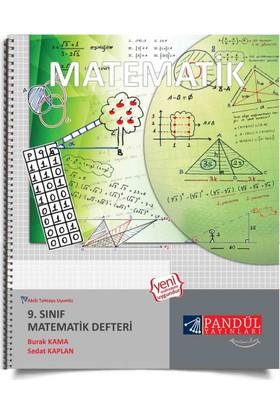 Pandül Yayınları 9. Sınıf Matematik Defteri - Burak Kama