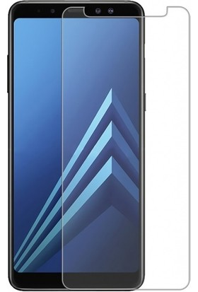Engo Samsung Galaxy A6 Plus Ekran Koruyucu Cam 2.5D 9H Temperli Şeffaf Ekran Koruyucu