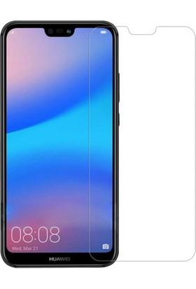 Engo Huawei P20 Lite Ekran Koruyucu Cam 2.5D 9H Temperli Şeffaf Ekran Koruyucu
