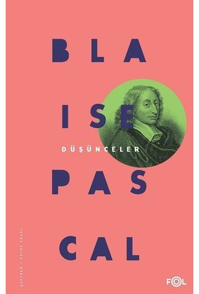 Düşünceler - Blaise Pascal