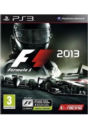 F1 2013 Formula1 PS3