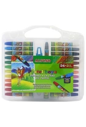Alpıno 24 Renk Çantalı Pastel Boya Dc-008297