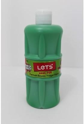 Lets Parmak Boyası 500 Ml Yeşil (Yeni Ürün)