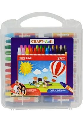 Craft And Arts 24'Lü Pastel Boya (Pp Kutu - U1924)