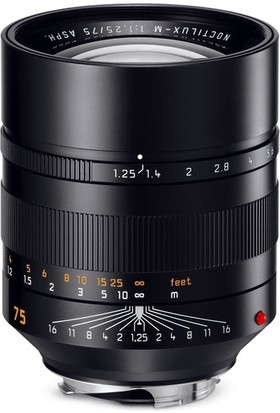 7ARTISANS 75MM F1.25 Full-Frame Leica (M-Mount)