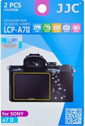 Jjc LCP-A7II LCD Ekran Koruyucu Film 2'li Paket (Sony A9, A7S Iı, A7 Iı, A7R Iı, A7R Iıı, A7S Iı, A7R Iı, A7 Iıı)