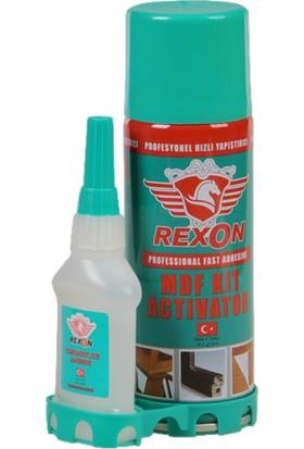 Rexon Mdf Kıt Çift Komponentli Hızlı Yapıştırıcı 400 ml