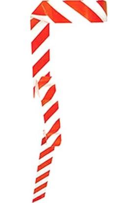 Metroplast Emniyet Şeridi Kırmızı-Beyaz 500 Mt, İkaz Bandı