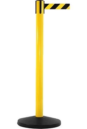 Ra-Ya Yönlendirme Şerit Bariyer Boyalı Sarı Çift Renkli Şerit